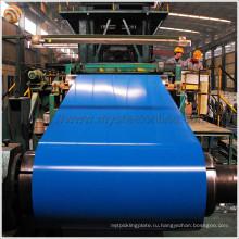 Поверхностная обработка с покрытием и применение на складе Prime PPGI Coils