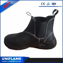 Genuine Leather Upper Women Ce Certificate Safety Boots Ufb003