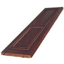 Porte blindée en bois solide et blindée
