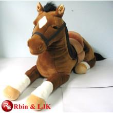 Meet EN71 and ASTM standard ICTI plush toy factory plush plush horse toy