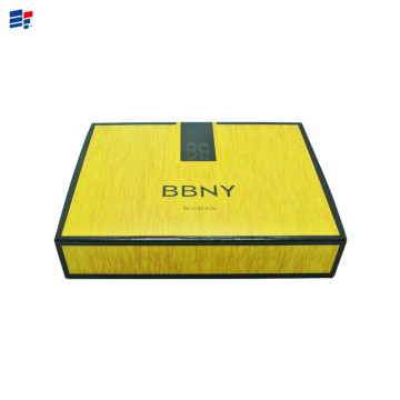Custom Printed Sliding Drawer Gift Paper Box