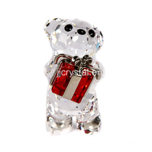 Crystal Lovely Bear for Holiday Gifts in Chinese Style