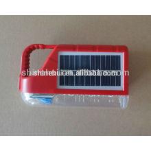 Mini convencional linterna de camping solar / solar manivela de la lámpara / insecto solar matador