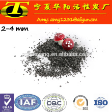 Carvão ativado granular de 8-16 mesh feito de casca de coco ou antracite