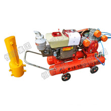HDZ-120 Portable pile driver used for construction pile foundation engineering and bridge engineering