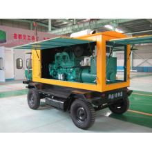 Мобильный дизельный генератор мощностью 250кВА с генератором переменного тока Cummins Stamford
