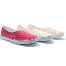 Эластичный Чистый Цвет Классические Холст Основной Studeng Женщин Повседневная Обувь