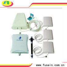GSM 900MHz DCS 1800MHz Powerful 70dB Gain Cell Phone Mobile signal Booster Repeater Amplifier Extender Full Kit