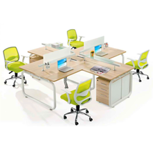 Latest executive office table design in wood for staff use