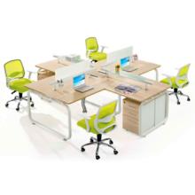 O último projeto de mesa de escritório executivo em madeira para uso de pessoal