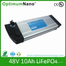 Aliminum Case E-Bike Lithium Battery Pack 48V 10ah
