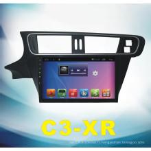 Système Android System Navigator pour C3-Xr 10.2 pouces avec DVD voiture