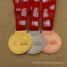 High Polished Medaillon Metal Schule Award Karate Sports Marathon Lauf Medaille
