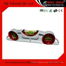 Alta precisão alumínio ponte de fundição nível com 3 frascos para uso de andaime