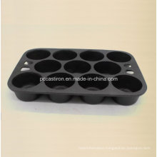 11PCS Cast Iron Cake Pan with LFGB Certificare