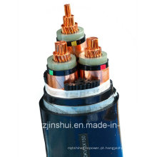 Henan Jinshui Grupo Mv Elétrica 3 Núcleo XLPE Armored Power Cable