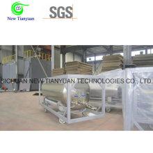LNG Cryogenic Vehicle Liquid Medium Storage Steel Cylinder