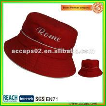 New Style Red Short Brim Bucket Hats BH0004