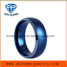Fashion and Comfortable Blue Plated Ring Jewelry