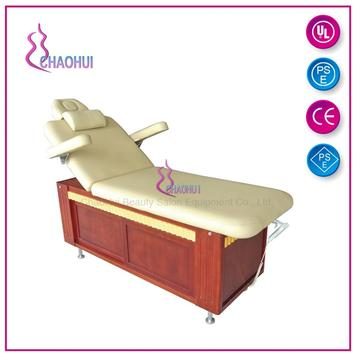 Beauty Wooden Electric Massage Bed Facial