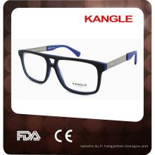 Belles lunettes en acétate optique en forme d'oeil