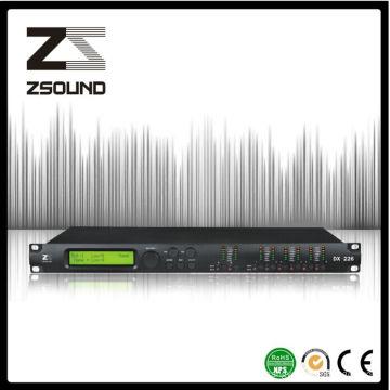 Processeur sain stéréo de Dx226 pour le haut-parleur audio d'étape de PA audio