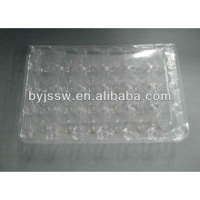 Caixas de plástico para ovos de codorna
