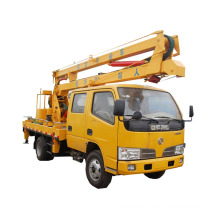 Camión de plataforma de trabajo aéreo de Dongfeng de mejor estabilidad