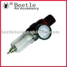 air filter regulator and pressure gauge
