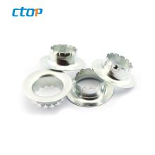 factory wholesale low price eyelet grommet rings metal eyelet for garment