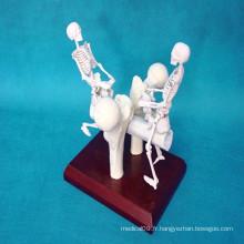 Produits de cadeaux médicaux artificiels à motif squelettique humain