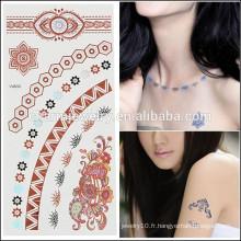 OEM Vente en gros de tatouages de mode beauté design de tatouage temporaire de haute qualité pour femme sexy V4633