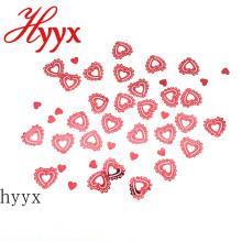 HYYX моды 2018 форме сердца 30 мм плоской блестки видах заводе в больших объемах свободные блестки декоративные конструкции блестками