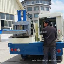 240 SUBM Sanxing K Q Span Roll Forming/locking roof Machine