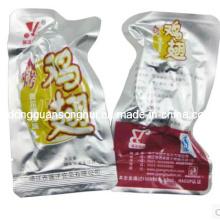 Saco plástico do vácuo / saco da embalagem da carne / saco do alimento