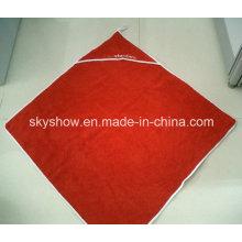 Serviette de bain Poncho Design personnalisé (SS0361)