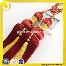 Zhejiang Wholesale Rayon Curtain Tieback Tassel for Decoration