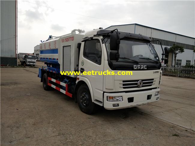 6 CBM Dung Tanker Trucks
