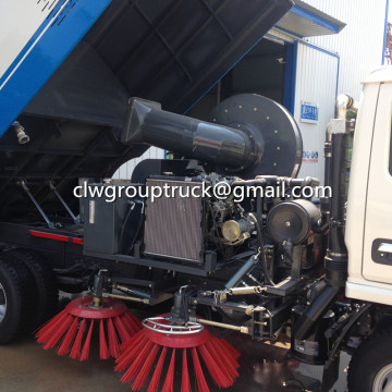 ISUZU 5.5CBM Professional Vacuum Road Sweeper