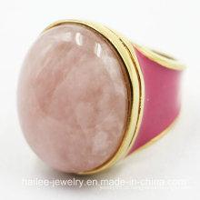 Imitação de aço inoxidável jóias anel de moda
