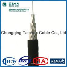 ¡Fuente profesional de la fábrica !! High Purity xlpe cable retorcido abc