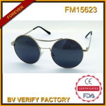FM15623 Высокое качество металла старинные солнечные очки Полароид объектив