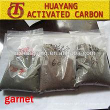 HY-PC872 todo tipo de granate de voladura de arena de tamaño de partícula