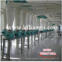 100tons Weizenmehl, Mehlfräsmaschine