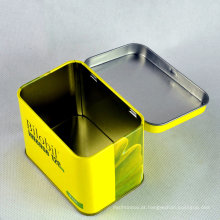 Caixa de lata para biscoitos / recipiente de estanho / caixas de estanho de metal