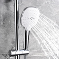 Wall Mount Thermostatic Bathroom Shower Mixer Set