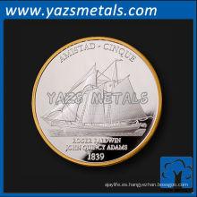 Moneda de oro de encargo del oro anverso anverso