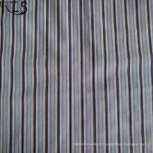 Tissu 100% tissé teint par fil de popeline de coton pour des chemises / Dress Rls50-26po