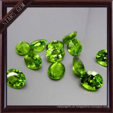 Peridot natural da boa qualidade oval de Bling Bling da forma para o ajuste da joia
