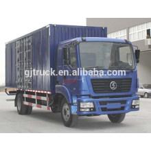 4X2 drive 15T Shacman van truck / Shacman van box truck / Shacman van camión de transporte / Shannqi van box camión de transporte / camión de carga